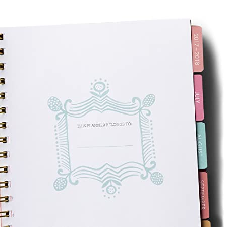 Amazon.com : 2018 Agenda Planner - Flamingo : Office Products