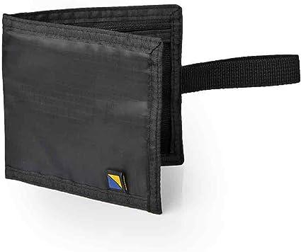 Travel Blue RFID Noir Cou Portefeuille étui imperméable avec 3 poches