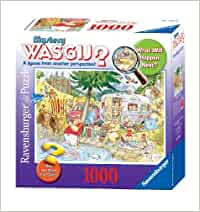 Wasgij 1000 PC Mystery Puzzle: Camping Commotion: Amazon