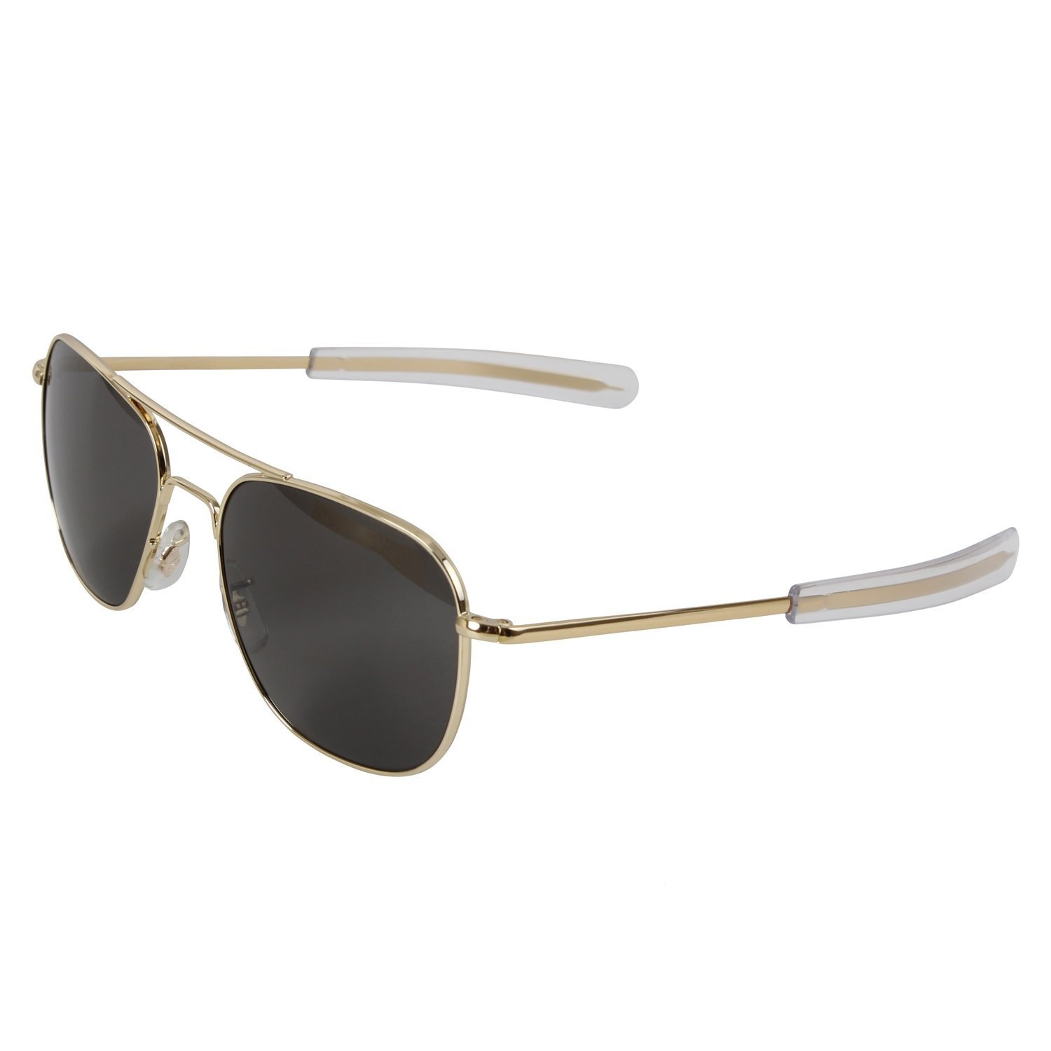 "GENUINE GOVERNMENT AIR FORCE PILOTS SUNGLASSES BY ""AMERICAN OPTICS"" (57 MM, Gold)"