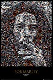 Bob Marley Mosiac Poster Print Collections Poster Print, 24x36 Music Poster Print, 24x36