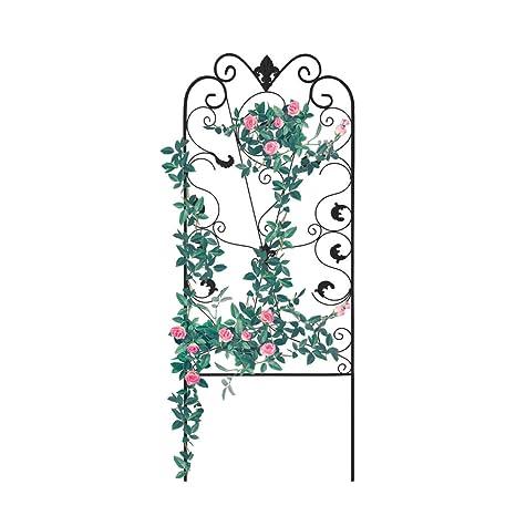 Amazon Com Graybunny Gb 6900bl3 Garden Trellis For Climbing Plants