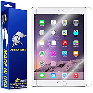 ArmorSuit MilitaryShield - Apple iPad Air 2 Screen Protector Anti-Bubble Ultra HD - Extreme Clarity & Touch Responsive with Lifetime Replacements Warranty
