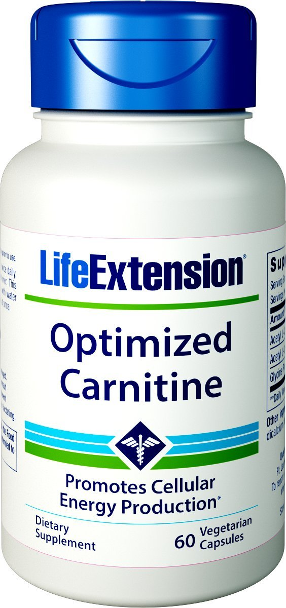 Life Extension Optimized Carnitine, 60 Vegetarian Capsules by Life Extension