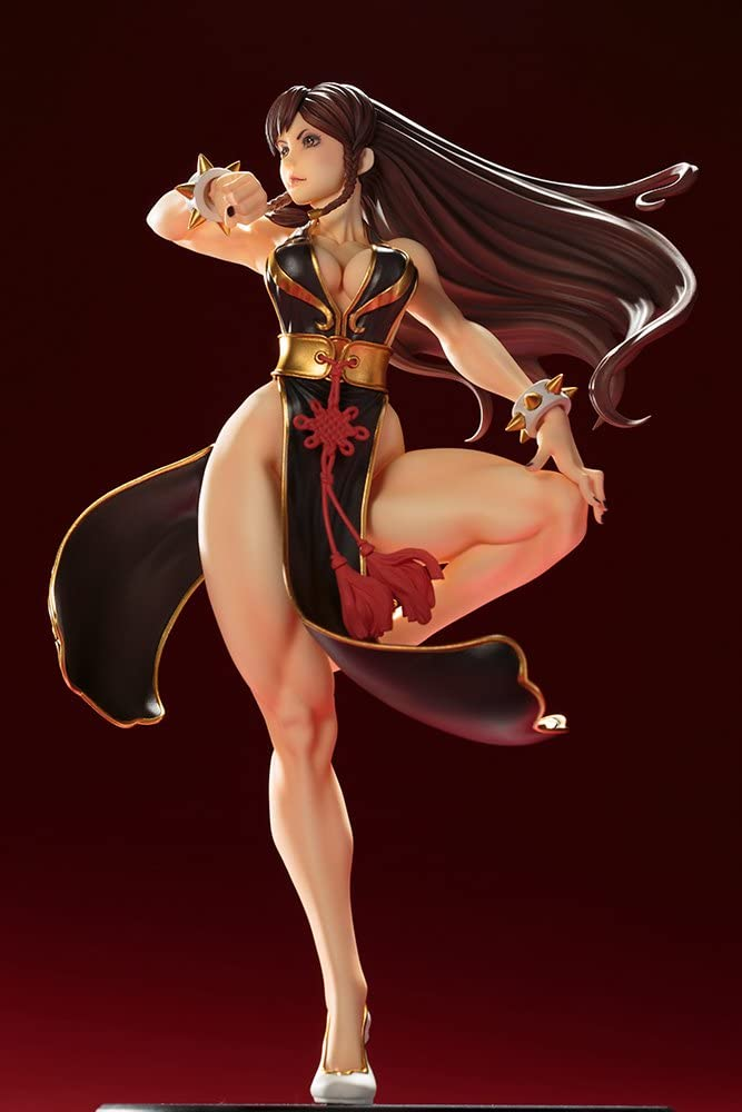 Kotobukiya Bishoujo Street Fighter Chun-Li Battle Costume PVC Action Figure New