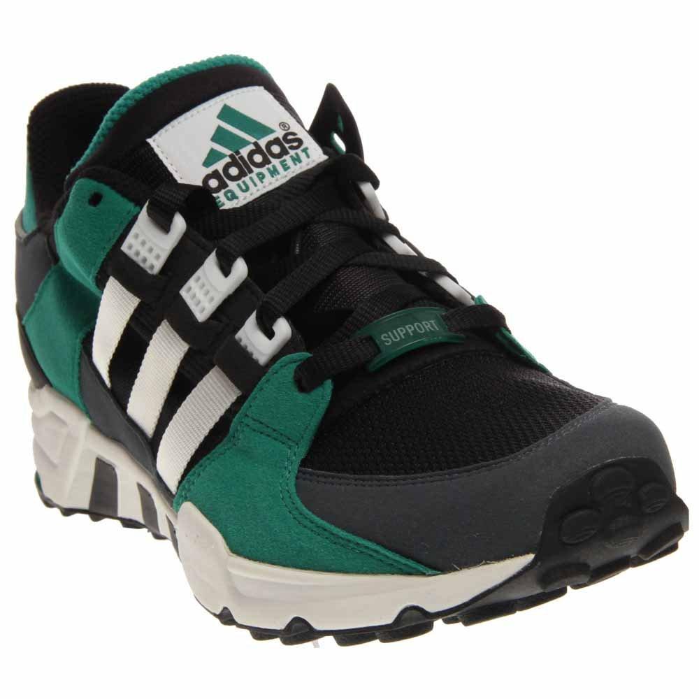 buy popular 561ae 18f63 Amazon.com   adidas Originals Equipment Running Support  93 Black White Sub  Green Men s Shoes (size 12)   Road Running
