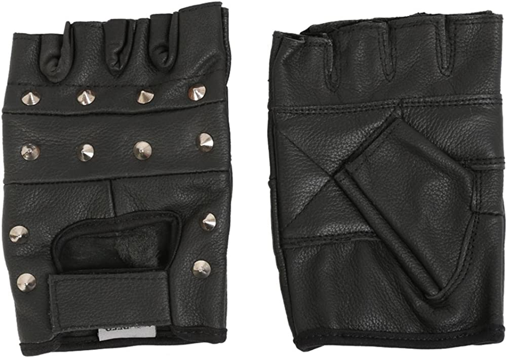 Boland 03150/Biker Gloves Fancy Dress One Size