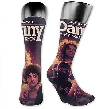 Amazon.com: GaryCColeman Ninja Sex Party Mens Socks ...