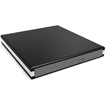 Firstcom - Caja externa para reproductor y grabador de CD, DVD y Blu-Ray, interfaz SATA, 12,7 mm de altura, conexión USB 3.0, color negro ...