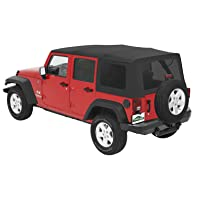 Pavement Ends by Bestop 51204-35 Black Diamond Replay Replacement Soft Top Tinted Windows