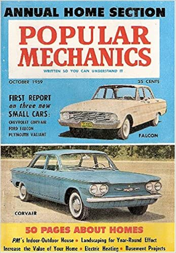 Popular Mechanics October 1959 Volume 112 Number 4 H H
