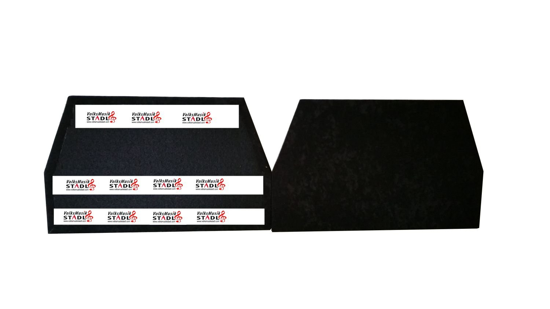 Steirische Harmonika Balgschoner Universal, schwarz 4-reihig VMS BU-114