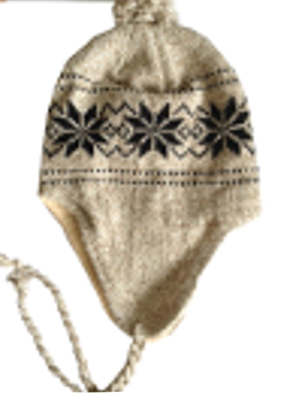 1 x Wintermütze Fellmütze Fliegermütze Strickmütze Skimütze Inka Norweger Mütze