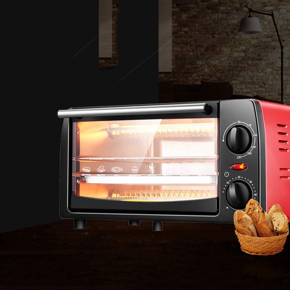35L POTENTE FORNO ELETTRICO 1600W Mini Nero Piccolo//Compatto Fornello Grill Bake