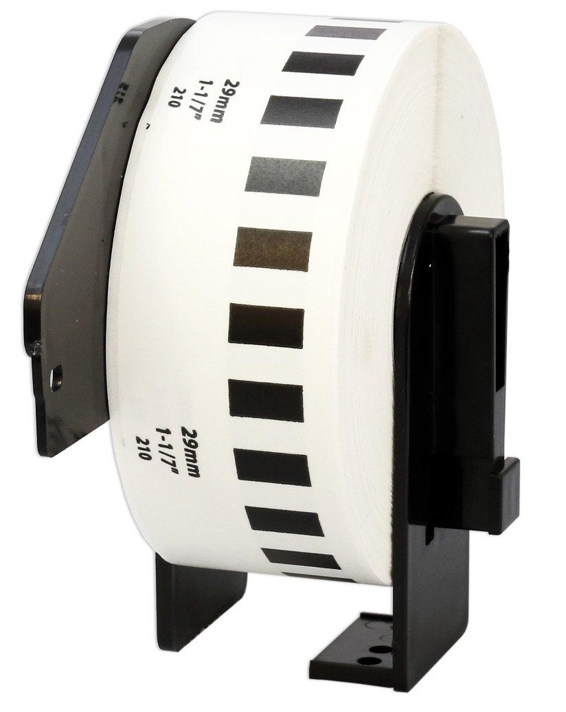 10x DK-11201 29 x 90 mm Adressetiketten (400 Stück Rolle) kompatibel für Brother P-Touch QL-1050 QL-1060N QL-1110NWB QL-1100 QL-500 QL-500BW QL-570 QL-580 QL-700 QL-710W QL-800 QL-810W QL-820NWB B074RY41D2   Ausgang