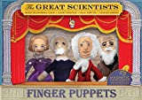 : Great Scientists Finger Puppet Set - Fridge Magnets