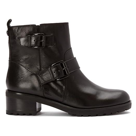 amazoncom michael michael kors womenu0027s gretchen bootie black 8 m shoes
