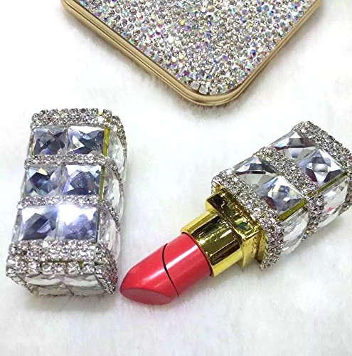 Gorgeous Bling (TISHAA Gorgeous Bling Bling Fashion Jewelry Accessory Camouflage Cigarette Lighter Fire Starter (Lipstick Crystal))