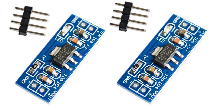 Dc-Dc Step-Down Power Module 3.3V Power Module Ams1117-3.3V Power Module AZ