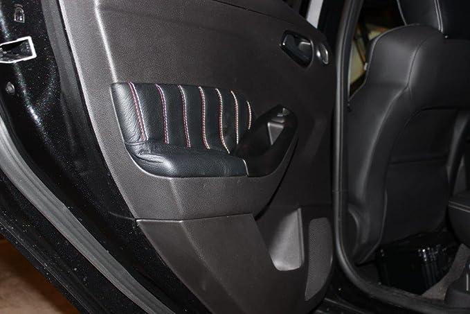 Amazon.com: RedlineGoods Ford Focus Mk3 2011-16 insercion de puertas delanteras de: Automotive