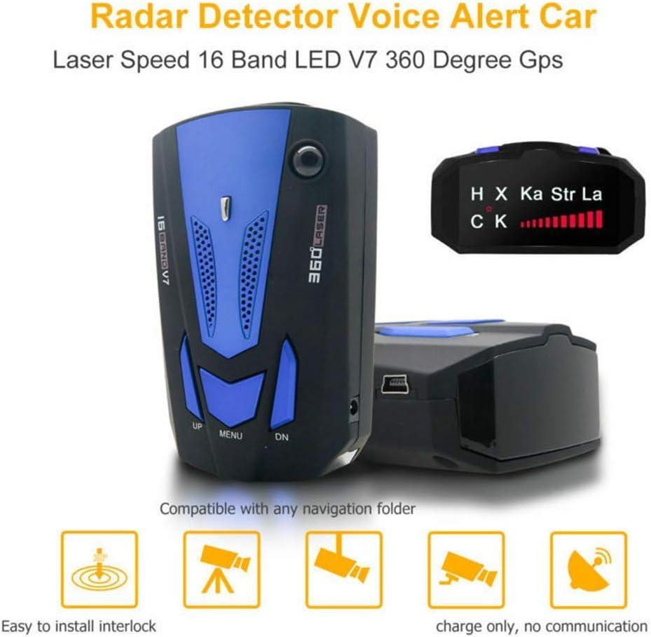 Amazon.com: Maso 2019 - Detector de radar de velocidad de ...