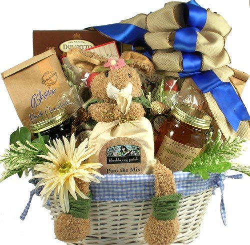 Easter Morning Breakfast Gourmet Easter Basket by Organic Stores