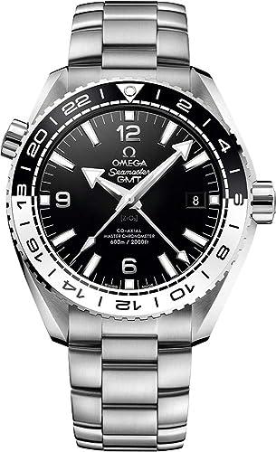 Omega Seamaster Planeta Océano Negro y Blanco Bisel 43,5 mm Mens Reloj 215.30.44.22.01.001: Amazon.es: Relojes