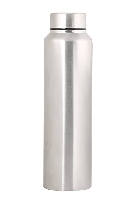 3814037ea6 Image Unavailable. Image not available for. Colour: Zafos Stainless Steel  Sipper Water Bottle ...