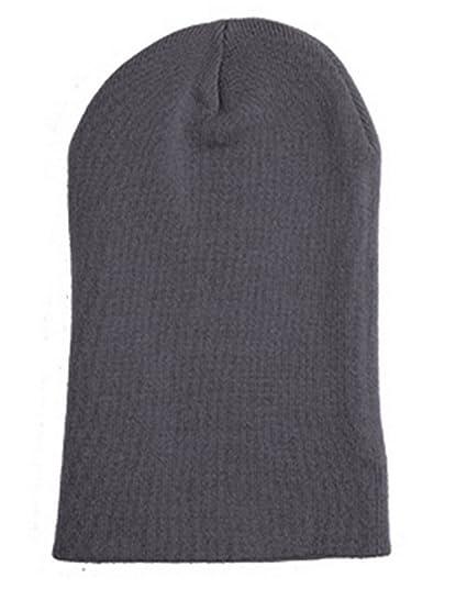 983689803 Amazon.com: Yupoong 1501C Adult Heavyweight Cuffed Knit Cap - Dark ...