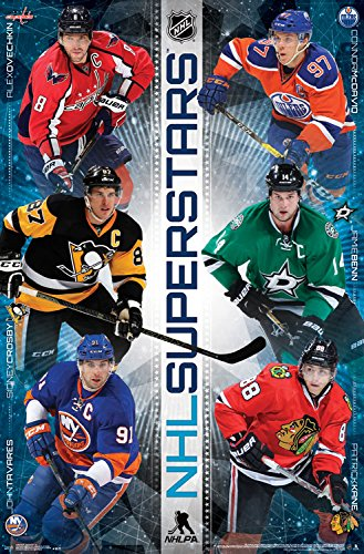 "Trends International NHL Superstars Wall Poster 22.375"" x 34"""