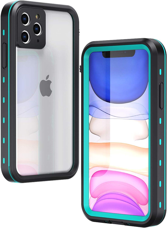 IP68 Certified Waterproof Dustproof Snowproof Shockproof Case Fully Sealed Underwater Cover with Built-in Screen Protector for iPhone 7 Black//White//Pink//Aqua Blue EFFUN iPhone 7 Waterproof Case