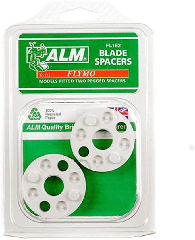 XE400 Blade Height Spacer Washers Pack Of 2 FLY017 Flymo XE250 XE300