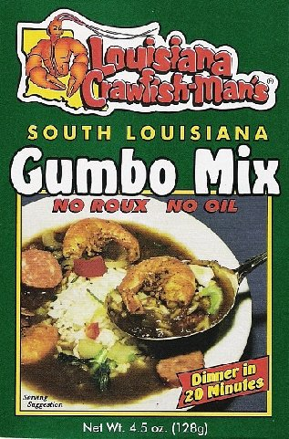 Louisiana Crawfish-Man's Gumbo Mix 4.5oz