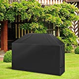 Charbroil Grill Cover, LEMESO Gas Grill Cover Heavy Duty 58 Inch Waterproof UV Dust Resistant BBQ Grill Covers for Weber, Brinkmann, Char Broil, Holland