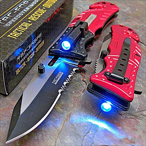 Firefighter Knife With Led Light in US - 2