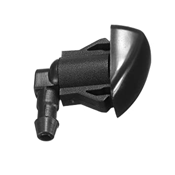 FeLiCia 2 Piezas Parabrisas Limpiaparabrisas Spray Jet Arandela Boquilla para Toyota Sienna Corolla Tundra