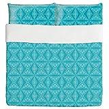 Beware Of The Teeth Duvet Bed Set 3 Piece Set Duvet Cover - 2 Pillow Shams - Luxury Microfiber, Soft, Breathable