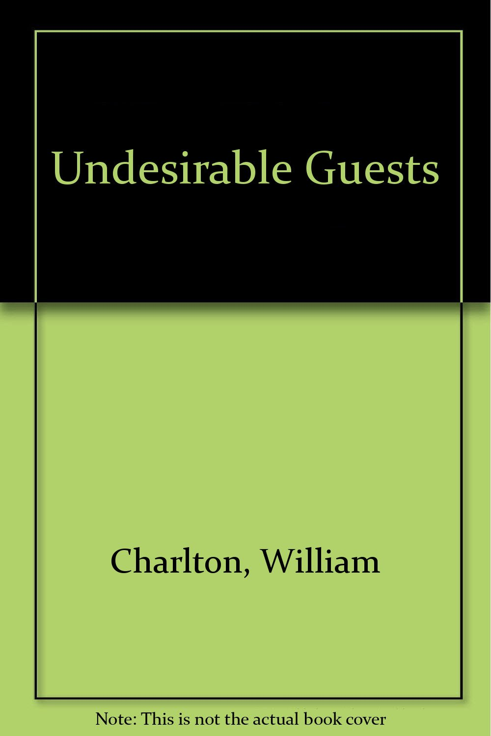 Download Undesirable Guests pdf epub