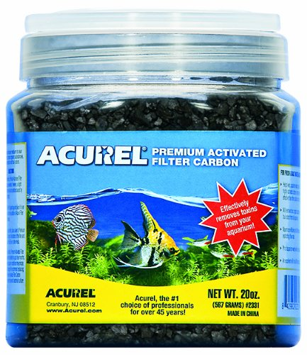 Acurel LLC Premium Activated Filter Carbon, 20-Ounce (20 Ounce Granules)
