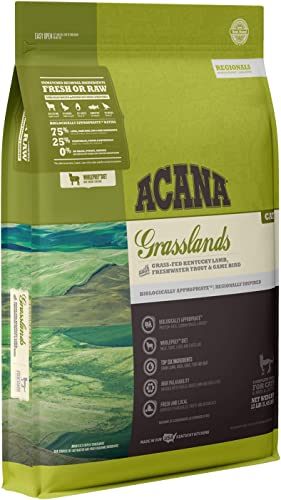 Acana Regionals Grasslands Dry Cat Food, 12 lb