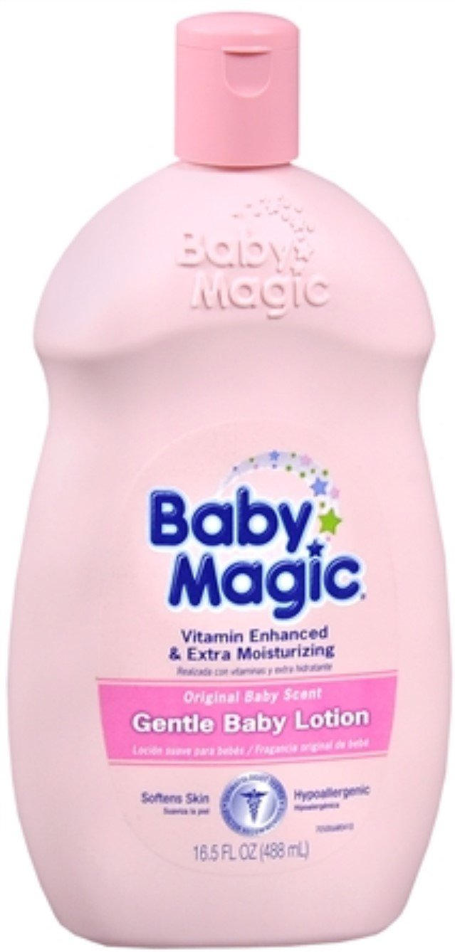 Bby Magic Baby Lotion Ori Size 16.5 Bby Magic Baby Lotion Original 16.5 by Baby Magic