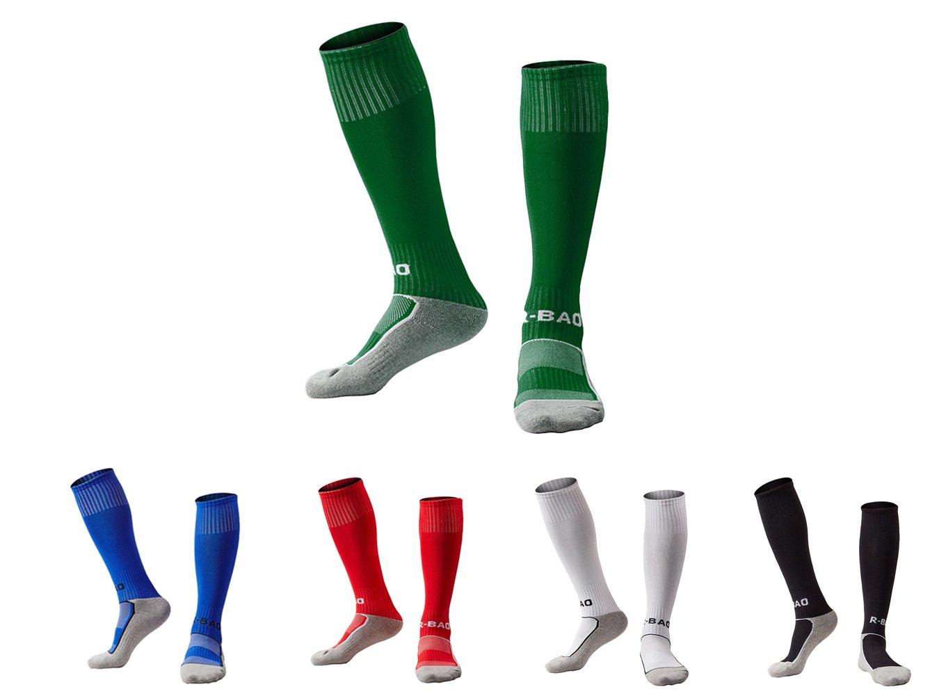 XPKWS SOCKSHOSIERY ボーイズ B077T3763S Green + Blue + Red + White + Black Green + Blue + Red + White + Black