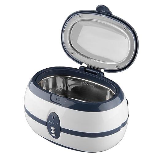 84 opinioni per Floureon VGT-600 600ML Display Digitale Pulitore Ad Ultrasuoni Per Gioielli, CD,