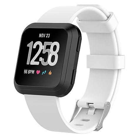 XIHAMA Fitbit Versa - Correa de reloj de silicona de repuesto para Fitbit Versa/Blaze