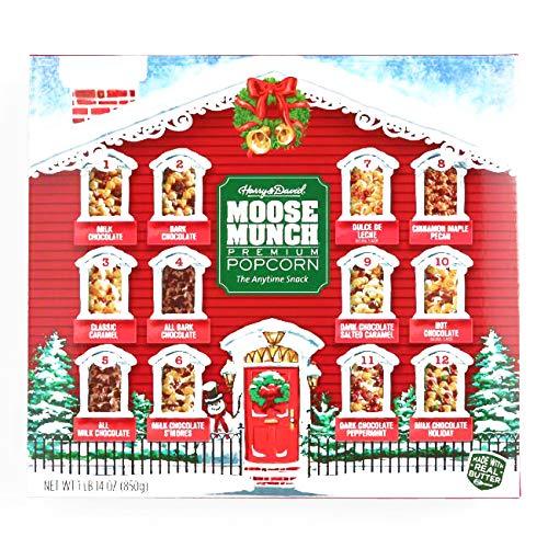Harry & David 12 Days of Moose Munch Popcorn 30 oz each (1 Item Per Order, not per -