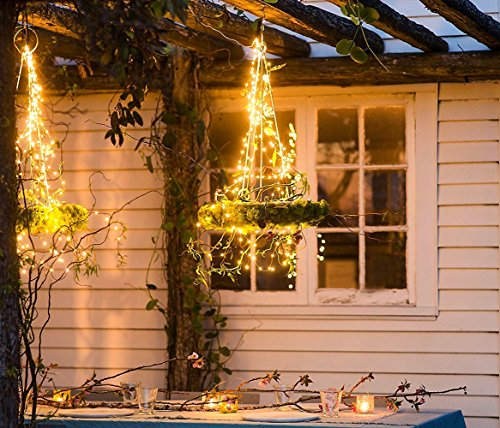 CHENG Outdoor Or Indoor String Lights Battery Operated Christmas  - Christmas Lights Remote Control