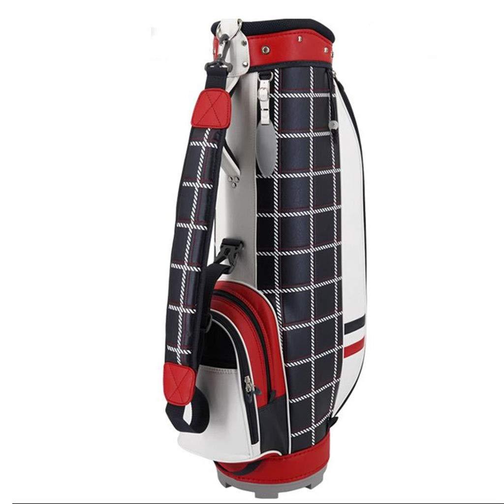 LIUXIN ゴルフバッグ、軽量および携帯用、防水素材、マルチカラーオプション ゴルフバッグ (Color : 赤) 赤