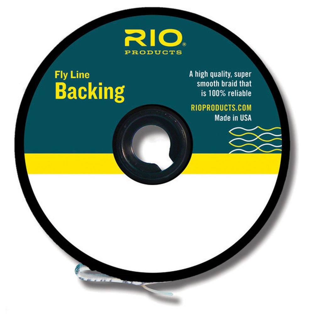 Rio Fly Fishing Backing Dacron 20Lb 5000 yd. Fly Tying Equipment, Chartreuse