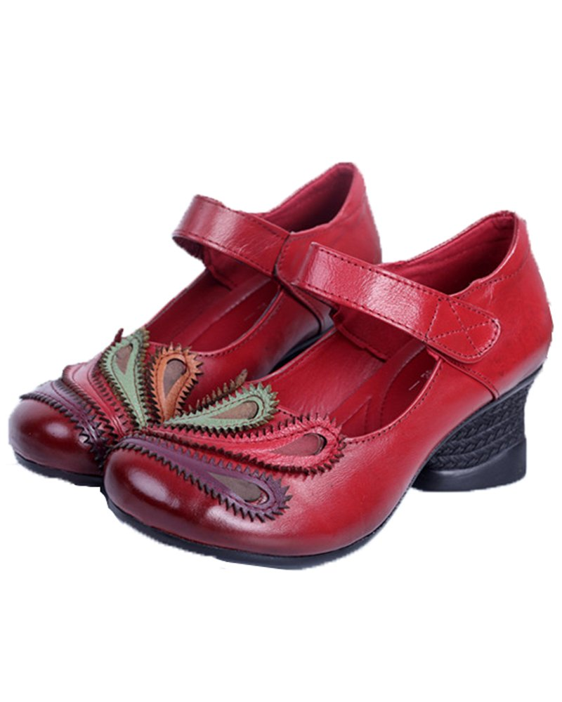 Mrs Duberess Mary Janes pour Femme Femme Style B07F6X8L92 3 Mary Red ef16065 - automatisms.space