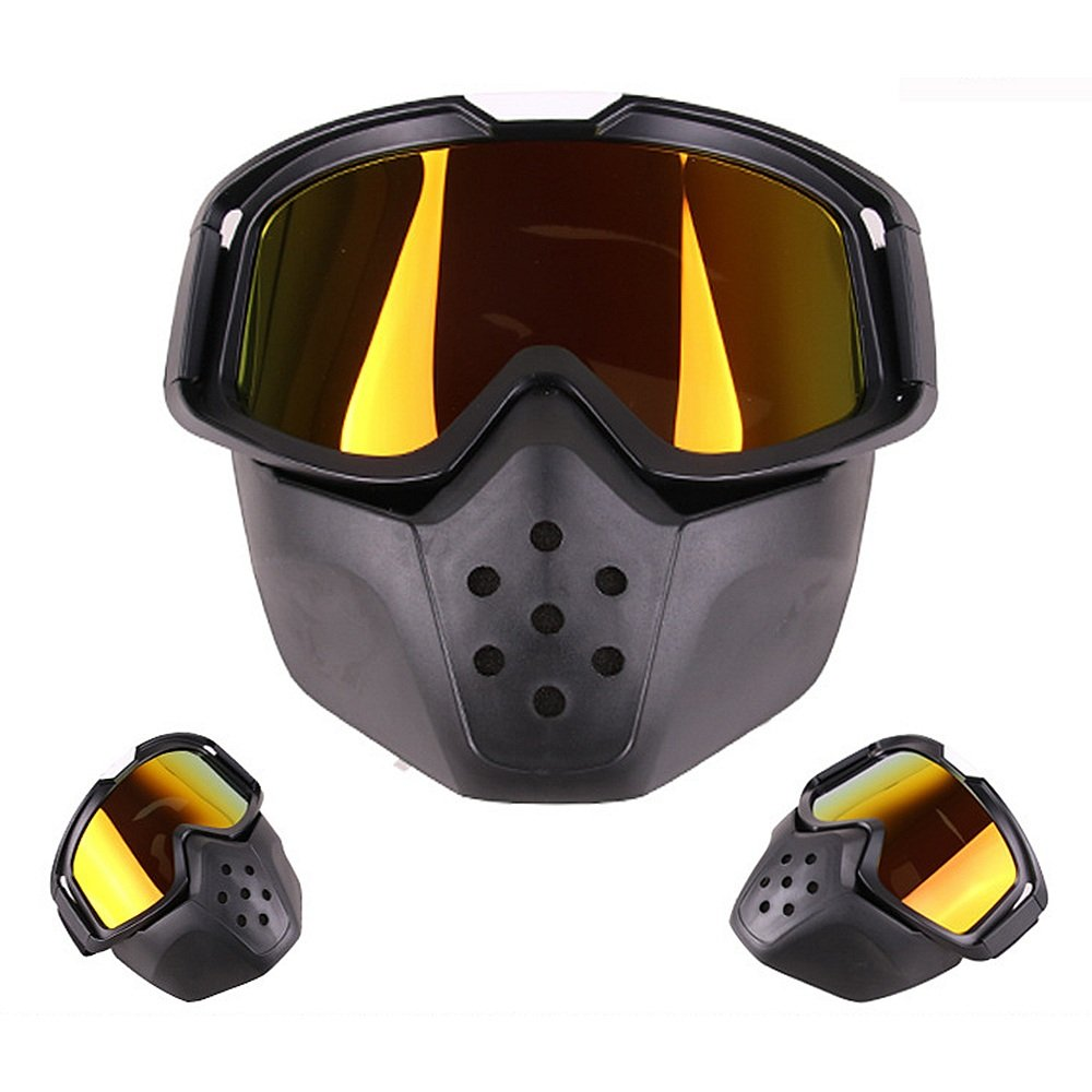5871a3a7f8 Helmet Glasses MX Riding Motorcycle Helmet ATV Dirt Bike Off Road Riding  Goggles Glasses With Removable Mask Racing Goggle Anti-Scratch Dustproof  Bendable ...